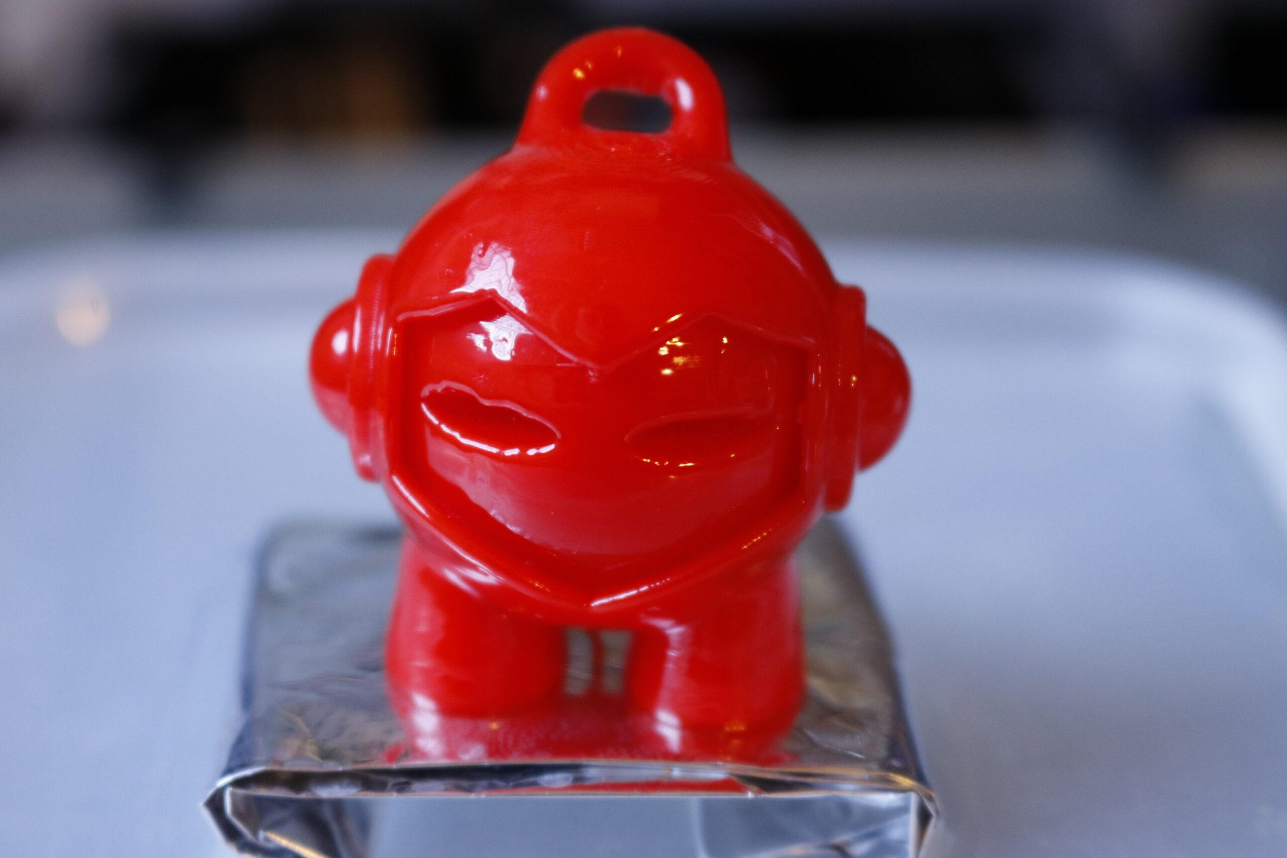 filamento ABS rosso