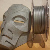 Pla alluminio skyrim mask