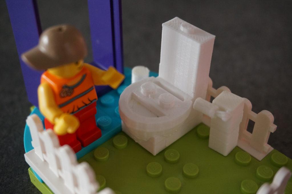 """Accessorio Lego """"Toilette"""" – Twinjet75"""