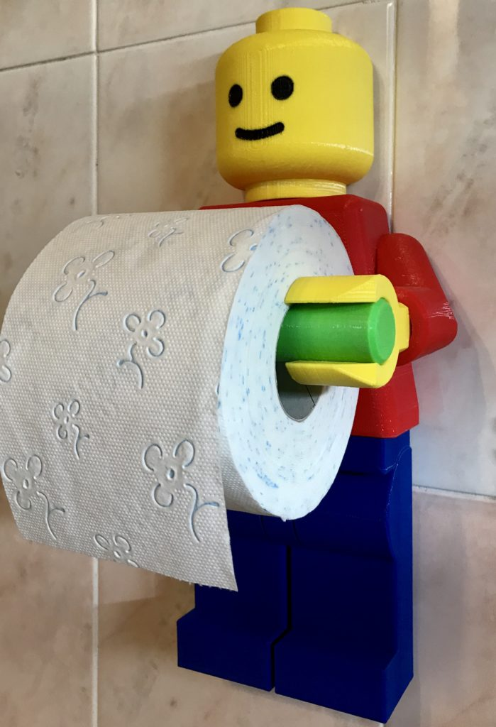Lego Porta Carta Igienica – Davide Sbardelatti