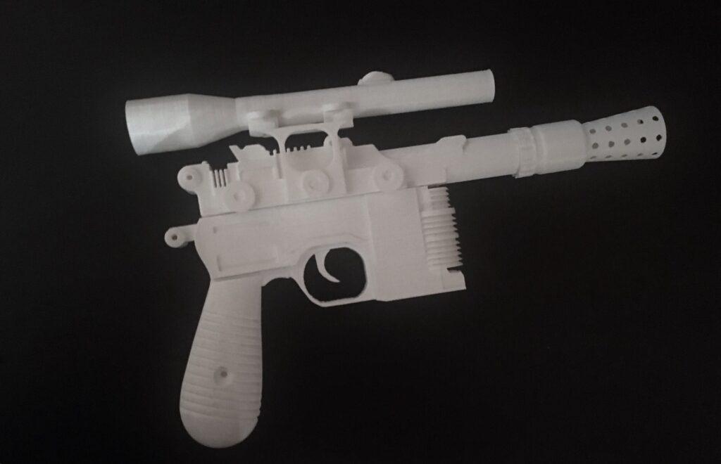 Pistola Blaster di Han Solo – Alessandro Perazzini