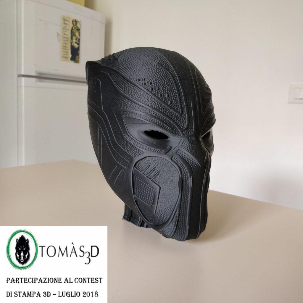 Black Panther Mask | 3dfederico | Tomàs3D Contest