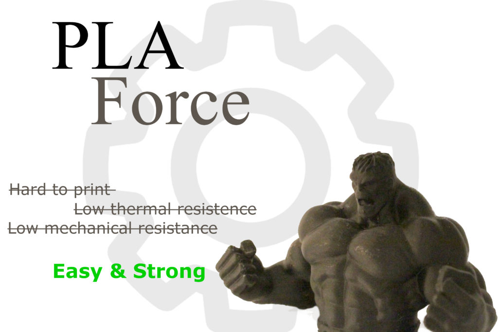 PLA Force | PLA rinforzato marchiato Tomàs3D